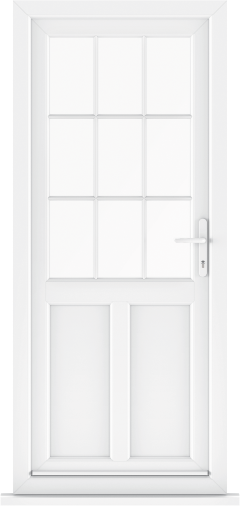 Liniar back doors trade upvc doors suffolk east anglia for White back door