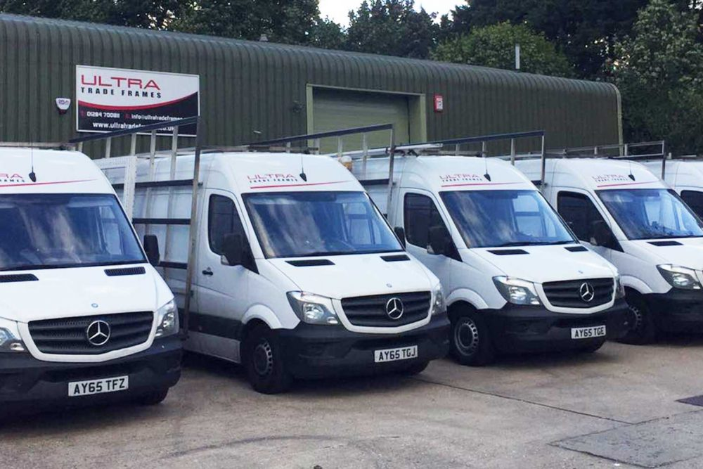 Ultra Trade Frames - Trade Double Glazing Vans