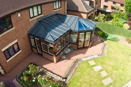 P Shaped Conservatory Roof