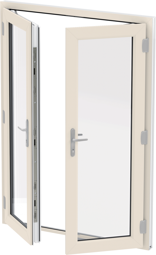 Liniar french doors trade double glazed doors suffolk for Reclaimed upvc doors