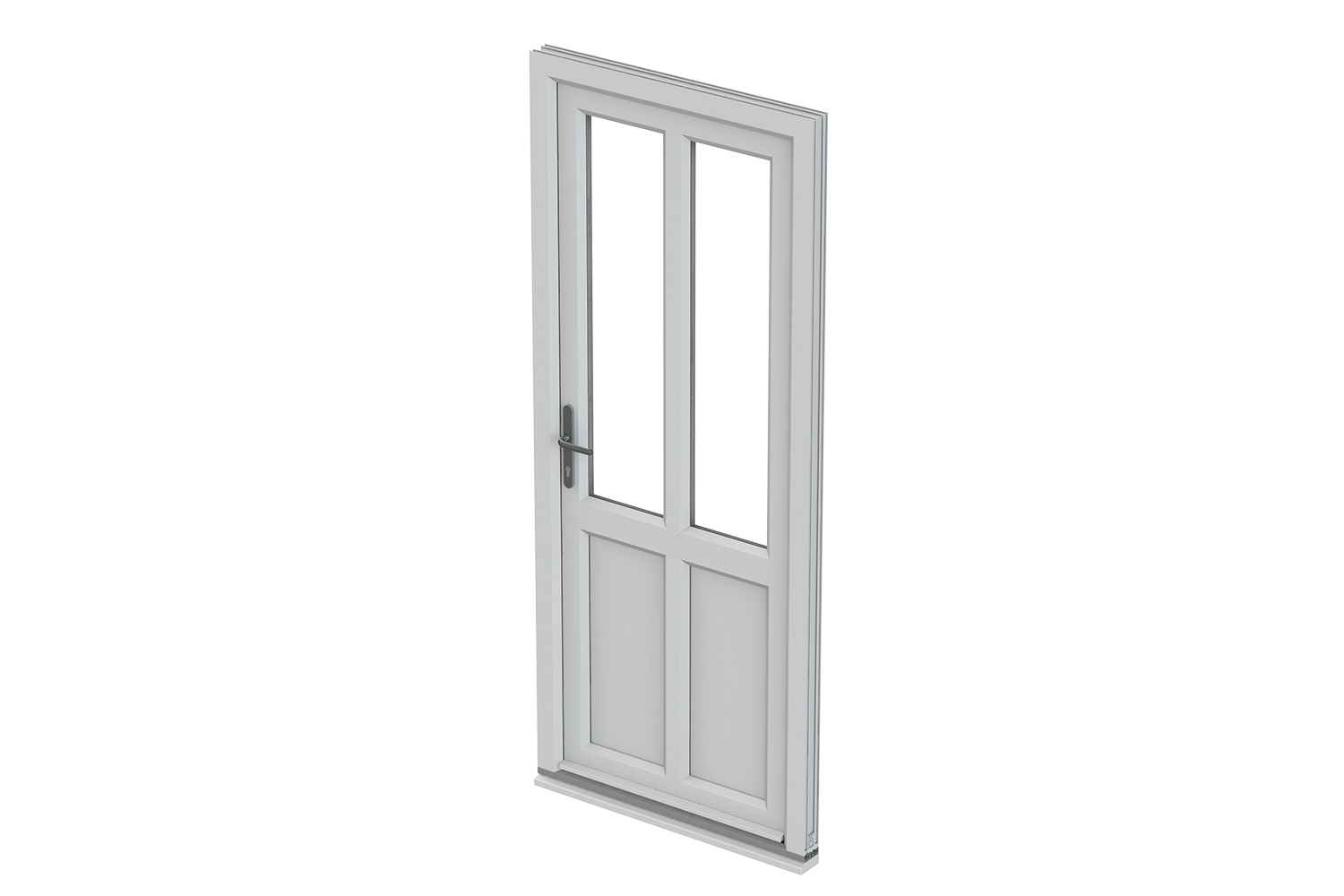 Liniar back doors trade upvc doors suffolk east anglia for Double glazed glass panels